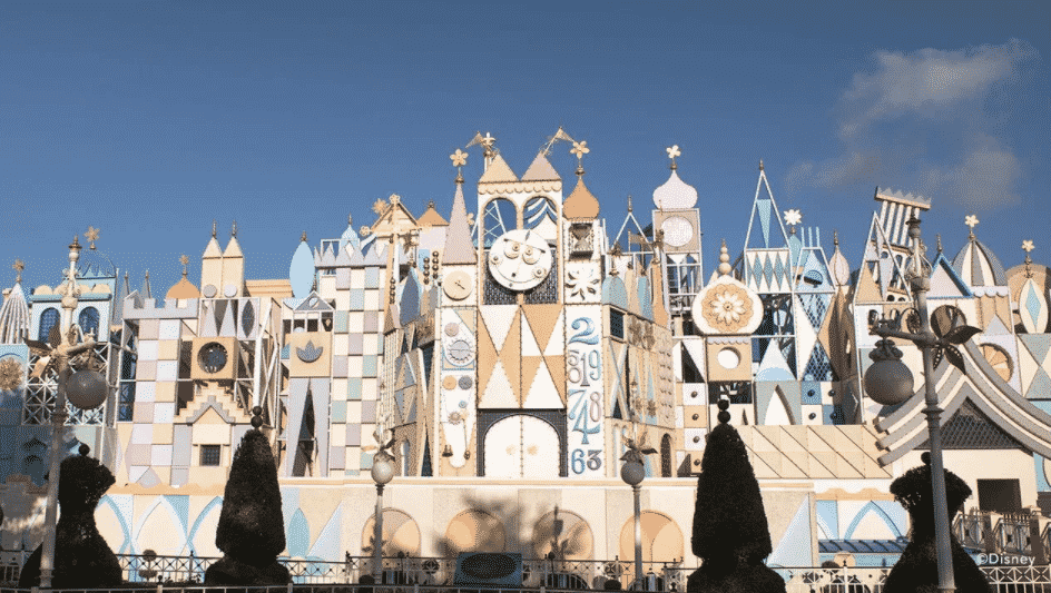 """See a Magical Virtual Ride-Through of """"It's A Small World"""""""