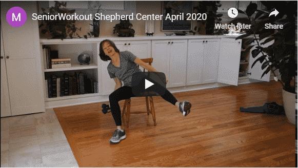 1-hour Chair Yoga Class