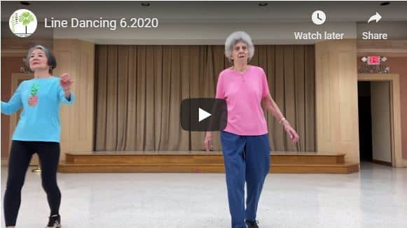 Line Dancing with Mary Lou Snyder