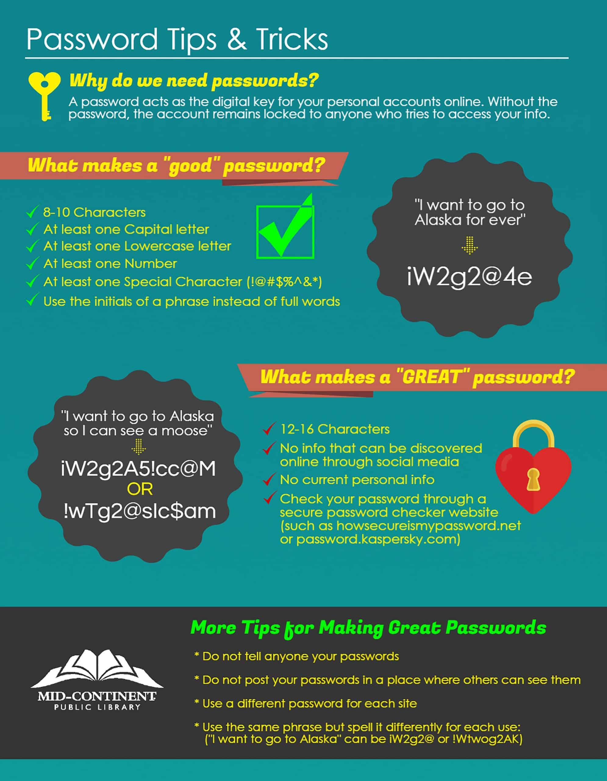 Password Tips & Tricks